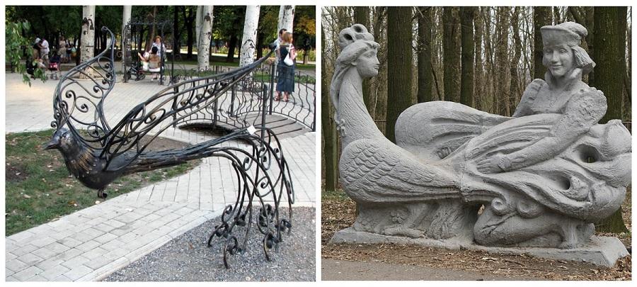 Жар-птица в Донецке