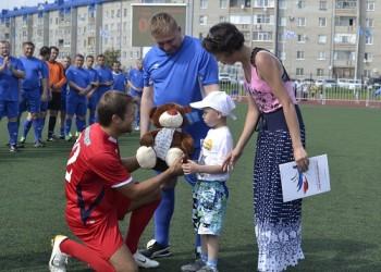 Больным детям Тобольска собрали около миллиона рублей