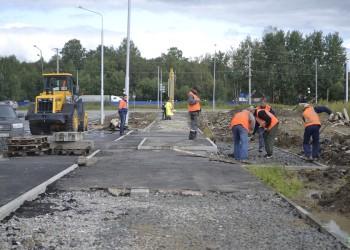На ремонт дорог и тротуаров в Тобольске направят 150 миллионов рублей