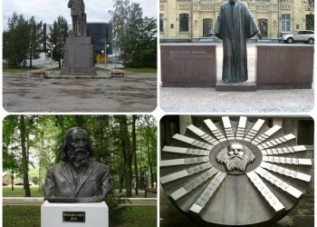 Памятники Дмитрию Менделееву в Тобольске и мире