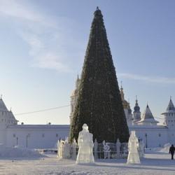 Главную елку Тобольска откроют 27 декабря