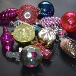 Новогодние игрушки из прошлого