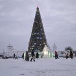 Огни главной елки Тобольска