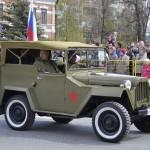Колонна «Бессмертного автополка» проедет по улицам Тобольска в День Победы