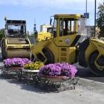 В Тобольске ремонтируют Комсомольский проспект