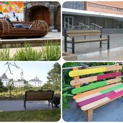 Необычные скамейки Тобольска и мира