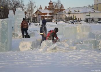 Ледовый городок в Тобольске посвятят грядущим городским юбилеям