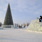 Ледовый городок нашего города