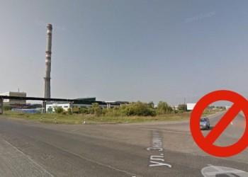 Въезд транспорта в Тобольск со стороны теплиц запрещен
