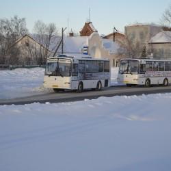 В Тобольске изменят движение транспорта из-за крещенских купаний