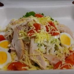Веселый дегустатор: салат Цезарь