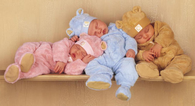 Спящие малыши-1