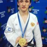Георгий Третьяков завоевал золотую медаль Кубка Европы по дзюдо