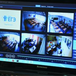 Тобольские школьники будут сдавать ЕГЭ под присмотром видеокамер
