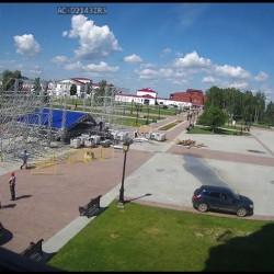 Празднование юбилея Тобольска можно увидеть on-line