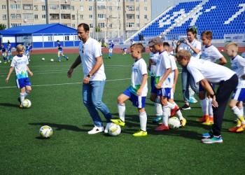 Роман Широков дал старт проекту «Хороший футбол» в Тобольске