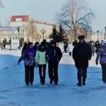 Туристов в новогодние каникулы привлекали Тобольский кремль и Абалак