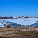 Автомобильную переправу через Иртыш закроют 7 апреля