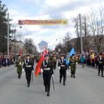 На парад Победы вышли около восьми тысяч тоболяков