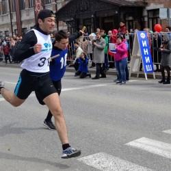 В Тобольске в семидесятый раз прошла легкоатлетическая эстафета