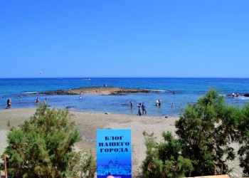 Тоболяки вдали от дома: Греция, Крит, Малия. Видео