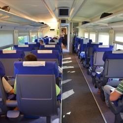 В составе пригородного поезда Тюмень – Тобольск появятся туристические вагоны