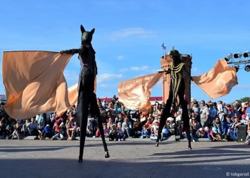 Фестиваль «Сны улиц» в Тобольске в 20 фотографиях