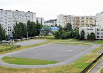 На территории тобольской гимназии появится новая спортплощадка