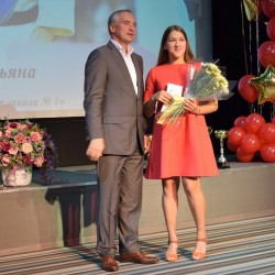 В Тобольске наградили отличившихся спортсменов