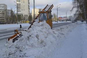 Почти 200 тысяч тонн снега вывезено с улиц Тобольска