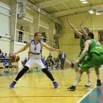 БК «Нефтехимик» обменялся победами с московскими баскетболистами