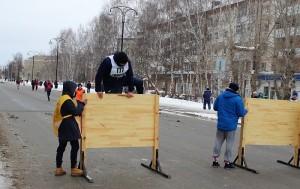 Спортафиша: комбинированная эстафета, соревнования по хоккею, футболу и волейболу