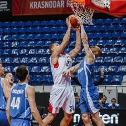 БК «Нефтехимик» обменялся победами с краснодарскими баскетболистами.Фото