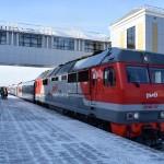 В Тобольск прибыл первый поезд с вагонами для маломобильных пассажиров