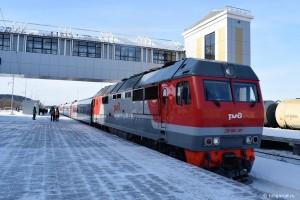 В скоростном поезде Тюмень – Тобольск увеличат число вагонов