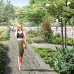 В Аптекарском саду появится пруд, а на Базарной площади каток