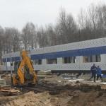 В Тобольске продолжается строительство новой поликлиники