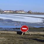 В Тобольске закрыли ледовую переправу через Иртыш