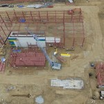 На мусоросортировочном заводе в Тобольске монтируют оборудование