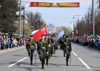«Парад Победы — 2019» в Тобольске. Фоторепортаж.