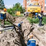 Горячая вода в тобольских домах появится до концанедели