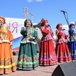 Тоболяки отметили День России праздничным концертом. Фото