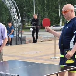 Новые физкультурные зоны открылись в Тобольске. Фото