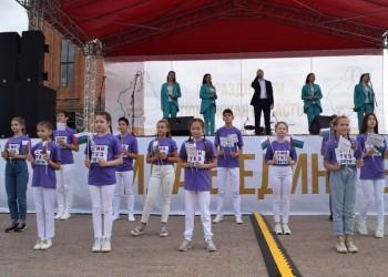 В Тобольске отметили день рождения Тюменской области.Фото