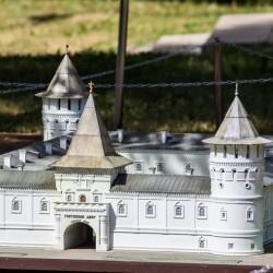 Тобольский кремль представлен на выставке «Россия в миниатюре»