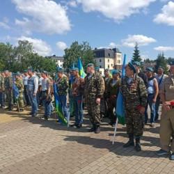 В Тобольске отметили День воздушно-десантных войск