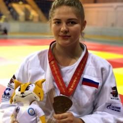 Любовь Орлова завоевала бронзу чемпионата мира по дзюдо