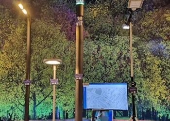 Компания «Югор» представила фонари с видеонаблюдением и WI-FI