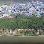 «Центральный парк» в Тобольске. Начало