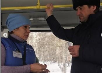 Максим Афанасьев без предупреждения прокатился на городских автобусах